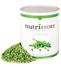 Nutristore Freeze Dried Peas