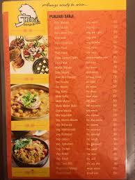 cuisine n駱alaise sher e punjab dhaba home bhuj menu prices restaurant