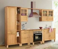 neue küche landhaus modul l form holz massiv otto alby