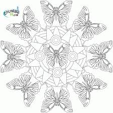 Paisley Coloring Pages Paisley Mandala Coloring Page On