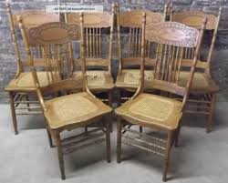 Cane Back Dining Chairs With Multiple Color Themes And Interesting Shapes Louis