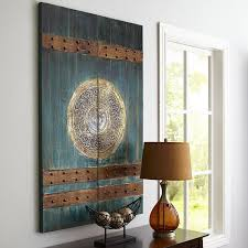 Chinês Doors Art Teal Pier 1 Imports Wall Arts