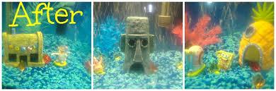 Spongebob Aquarium Decor Set by My Fun Spongebob Aquarium Remodel