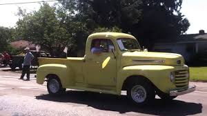 Vintage Ford Pickup Truck And Vintage Antique Car - YouTube