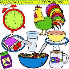 Good Morning Breakfast Clipart