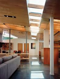 100 Griffin Enright Architects Skylit Interior Pathway Through Loftlike Room