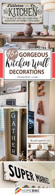 Kitchen Decor And Design On 45 Best Kitchen Wall Decor Ideas And Designs For 2021
