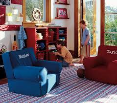 red anywhere chair pottery barn kids