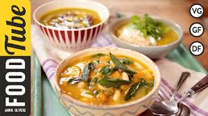 Jamaican Pumpkin Soup Youtube by Pumpkin And Ginger Soup Vegetables Recipes Jamie Oliver