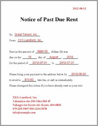 Late Rent Payment Notice Pdf Archives HashTag Bg