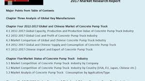 Global And Chinese Concrete Pump Truck Industry, 2017 Market ... New And Used Volumetric Mobile Stationary Concrete Mixers Transport Business For Sale Sunshine Coast Bsc Truck Ruined Cleaning Hard Cement From Mixer Barrel Youtube Mechanical Reduces Road Maintenance Cost Residential Driveways Easter Cstruction Our Work Sell House Fast California Real Estate Cash Buyer Home Repair Who Says A Refrigerator Is Smarter Than Your Tri City Ready Mix Kuert On Site Mixed Concrete Mister Shipping Cost Ai Dome Aidomes