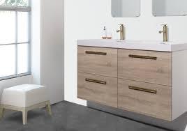Minimum Bathroom Counter Depth by Maine Bathroom Vanity Ensemble Walnut