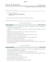 Perfect Resume Samples Resumes Examples With Accomplishments Listed Format Throughout Achievements