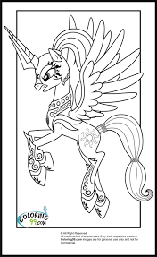 My Little Pony Shining Armor Coloring Pages396013