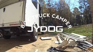 100 Airstream Truck Camper Box Rear Bumper Build And 59 Box RV