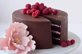 Chocolate Raspberry Layer Cake With Ganache Frosting – Thin Blog