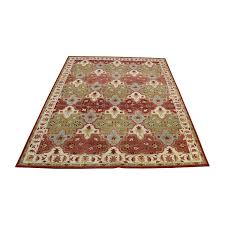 83 off pottery barn pottery barn persian patterned rug decor
