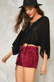 one strap mind lace up top shop clothes at nasty gal