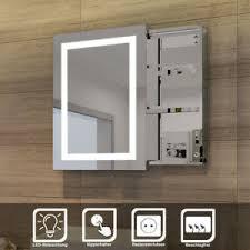 details zu led spiegelschrank mit schiebetür badezimmerspiegel badschrank hochglanz 50x70cm