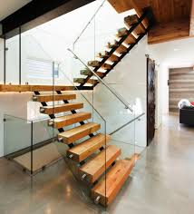 Modern Staircase Design With Floating Timber Steps And Glass ... Modern Staircase Design With Floating Timber Steps And Glass 30 Ideas Beautiful Stairway Decorating Inspiration For Small Homes Home Stairs Houses 51m Haing House Living Room Youtube With Under Stair Storage Inside Out By Takeshi Hosaka Architects 17 Best Staircase Images On Pinterest Beach House Homes 25 Unique Designs To Take Center Stage In Your Comment Dma 20056 Loft Wood Contemporary Railing All