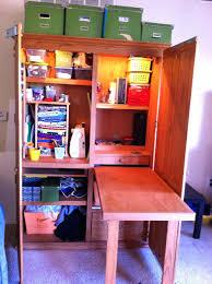 Sauder Palladia Desk With Hutch by Vaughan Bassett Armoire Computer Desk And Hutch Sauder Cinnamon