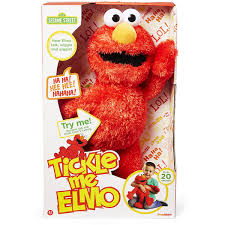 Sesame Street Tickle Me Elmo 18u201d Plush By Headstart International
