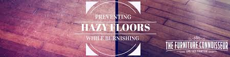 Burnishing Floors After Waxing by Preventing Cloudy Or Milky Finishes While Burnishing A Floor