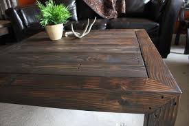 Cool Rustic Style Coffee Table On Home Design Styles Interior Ideas With
