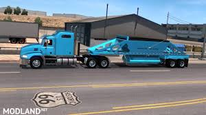 100 Belly Dump Truck Trailking Ownable 134 Mod For American Simulator ATS