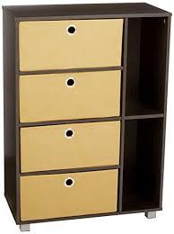 Furinno Computer Desk Amazon by Amazon Com Furinno 11159ex Br Multipurpose Storage Cabinet W 4