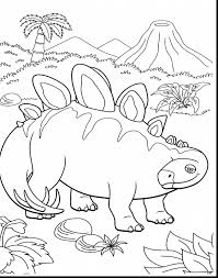 Astounding Dinosaur Train Coloring Pages With