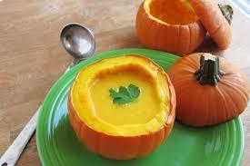 Pumpkin Butternut Squash Soup Vegan by Bowl Soup
