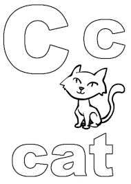 Free Printable Alphabet Coloring Pages Abc Sheets Kids For Adults Cat Letter M Geometric