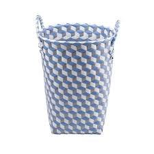 panier a linge bleu panier à linge blanc gris bleu paniers et cubes de rangement