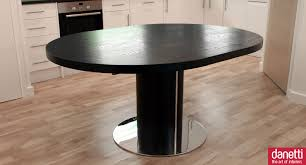 Outstanding Furniture For Dining Room Decoration Using Extendable Tables Extraordinary Black And White