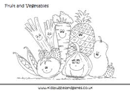 Wonderful Ideas Fruit And Vegetables Coloring Pages Vegetable Colouring Sheets