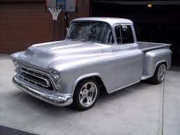 1957 Chevy Pickup | This 1957 Chevy Pickup Truck Was Brought To Us ... Valley Chevy Welcomes Bogi Lateiner Montage By Bogis Garage Popular Concepts Classic Parts 2812592606 Houston Texas 57 Chevy Pickup Custom Classic Stored Hot Rod Street Best For Sale Or Trade 1986 K10 Stepside 195559 Chevy 51957 1957 Chevrolet Wikipedia Truck 454 Bigblock Engine Truckin Magazine Apache Classics Sale On Autotrader Quiksilver Genho Trucks Hot Commodity At Fall Collector Car Auction Driving Legacy Napco Cversion Build Your Own Value Carviewsandreleasedatecom