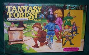 STA Dungeons Dragons Fantasy Forest Game MIB 4 Figures