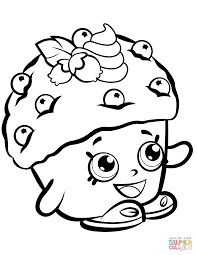 Click The Mini Muffin Shopkin Coloring Pages To View Printable Version Or Color It Online Compatible With IPad And Android Tablets