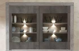 buffet aufsatz granada modern grau wohnzimmer