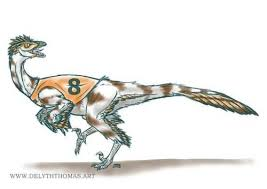 For Thomas Reward Sketch This Month Is A Racing Troodon Fun Request Which