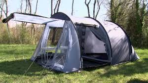 toile de tente 4 chambres tente mckinley compact tunnel 4 intersport