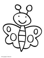 Print Easy Coloring Pages For Kids