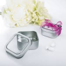 Michaels Wedding Supplies Canada by Celebrate It Occasions Tin Favor Box
