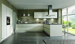 nobilia musterküche moderne grifflose l küche mit halbinsel