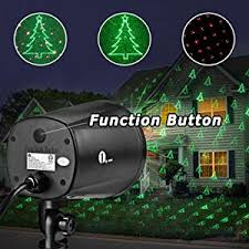 Firefly Laser Lamp Amazon by 1byone Christmas Laser Lights With Green Christmas Tree And Red