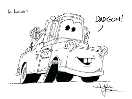 Coloring Pages Cars 2 Francesco Mater Free Disney Junior Full Size