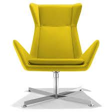 fauteil bureau fauteuil de bureau design jaune free sur cdc design