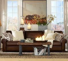 Pottery Barn Turner Sleeper Sofa by Turner Leather Roll Arm Sofa Great Room Possibilities