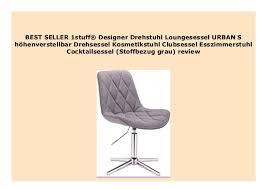 sell 1stuff designer drehstuhl loungesessel s h